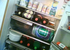 Minha geladeira encheu essa semana