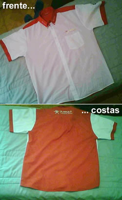 Camisas cor de rosa